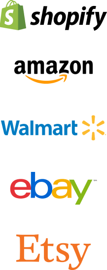 shopify amazon walmart ebay etsy